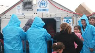 Les réfugiés syriens et irakiens louent la bonne organisation du camp macédonien de Gevgelija. Mais que vont-ils devenir?