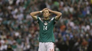 Javier Hernandez, 'Chicharito', 11 de octubre de 2013.