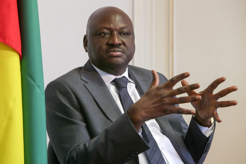 Aristides Gomes, antigo primeiro-ministro da Guiné-Bissau. Lisboa, 6 de Junho de 2018.