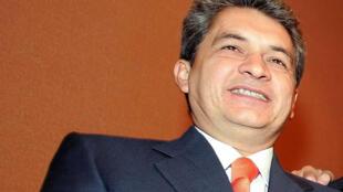 Tomas Yarrington tras una conferencia en México en 2005.