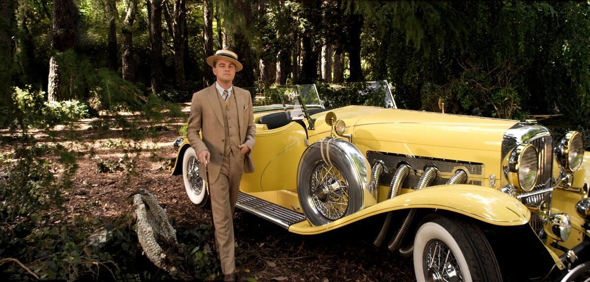 """Leonardo DiCaprio dans """"The Great Gatsby"""" (Gatsby le Magnifique) de Baz Luhrmann."""