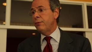 O embaixador brasileiro André Corrêa do Lago, em Pequim.