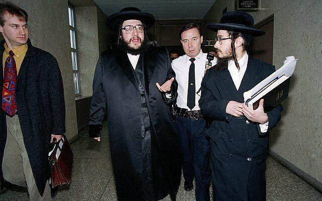 Le rabbin Shlomo Helbrans