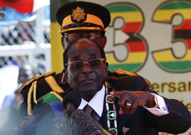 Zimbabwe's President Robert Mugabe in April 2013