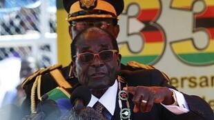 Zimbabwe's President Robert Mugabe in April 2013