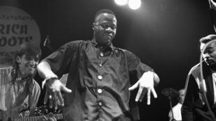 Papa Wemba en concert aux Pays-Bas.