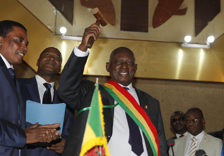 Issaka Sidibé, à Bamako, le 22 janvier 2014.