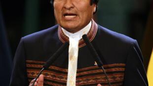 El presidente boliviano Evo Morales.
