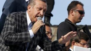 O premiê Recep Tayyip Erdogan que se encontrar com representantes dos manifestantes.
