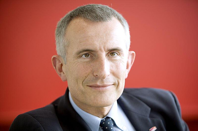 Transport Minister Frédéric Cuvillier