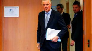 Michel Barnier, le négociateur européen.