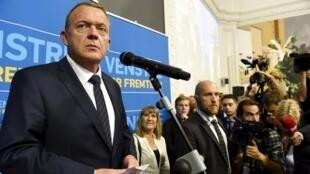Премьер-министр Дании Ларс Расмуссен