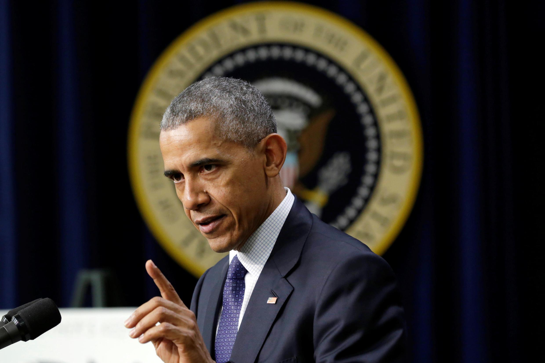 Presidente norte-americano, Barack Obama