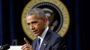 美国总统奥巴马,2016年12月14日
