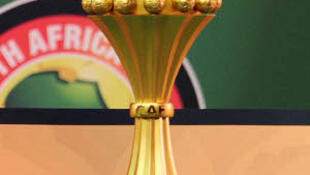 The Trophy of Africa's most prestigious football tournament AFCON
