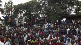 Après les manifestations pacifiques qui se sont déroulées le 29 novembre à Brazzaville, l'un des leaders de l'opposition Paulin Makaya a été condamné à deux ans de prison en 2016.