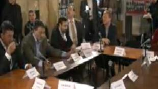 Заседание оргкомитета митинга 4 февраля в Сахаровском центре 24/01/2012
