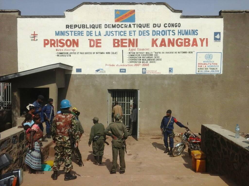 Gereza kubwa la Kangbayi la mjini Beni mashariki mwa DRC