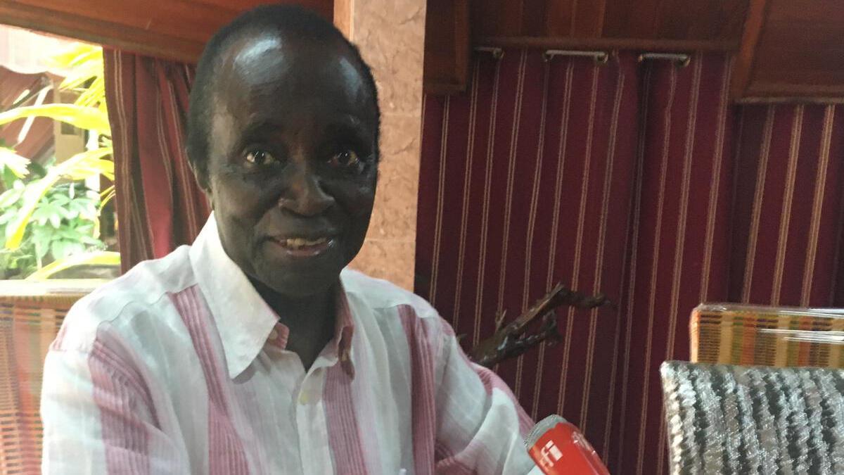 Lambert Amon Tanoh, ministre de l'Éducation en Côte d'Ivoire de 1963 à 1970.