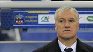 Didier Deschamps, le sélectionneur de l'équipe de France.