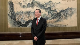 中国国家副主席王岐山。2018年8月。