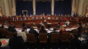 Hạ viện Mỹ thảo luận nội dung dự luật bảo hiểm y tế của Donald Trump nhằm thay thế Obamacare hôm 18/03/2017.