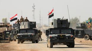 Dakarun Iraki sun kafa tutar kasar a birnin Nimrud baya kwace ikon birnin daga ISIL