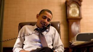 Le président américain Barack Obama appelle le républicain John Boehner, futur président probable de la Chambre des représentants.