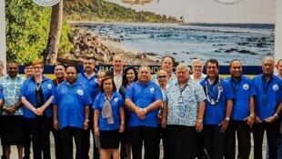 Các lãnh đạo tham dự Diễn đàn các đảo Thái Bình Dương lần thứ 49 tại Nauru, từ 03-06/09/2018.