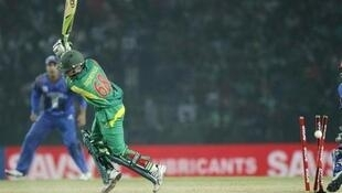Pakistan opened their World T20 campaign with victory over Bangladesh on Wednesday.