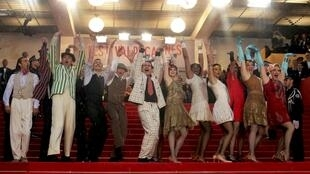 Dancers perform on the red carpet for the screening of the film The Great Gatsby as they arrive for the opening ceremony of the 66th Cannes Film Festival