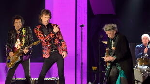 Les Rolling Stones en octobre 2017 à l'U Arena de la Défense.