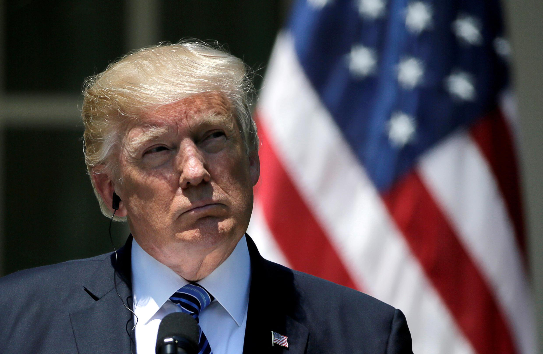 Tổng thống Mỹ Donald Trump tại Nhà Trắng, Washington, ngày 30/06/2017.