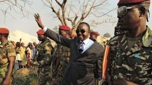 Rais mpito wa Jamhuri ya Afrka ya Kati, Alexandre Ferdinand Nguendet, mjini Bangui