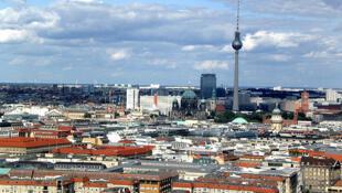 Vue sur la ville de Berlin.