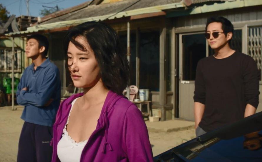 Кадр из фильма «Пылающий» Ли Чхан-дона