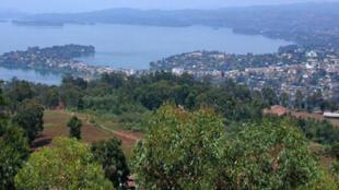 La ville de Bukavu en RDC.