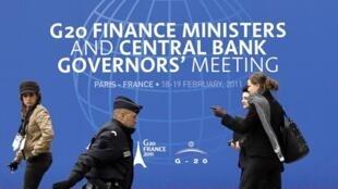 Primera reunión del G20 bajo presidencia francesa.