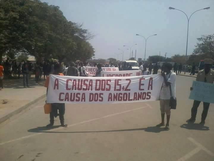 Angola: libertem os 15+2 activistas