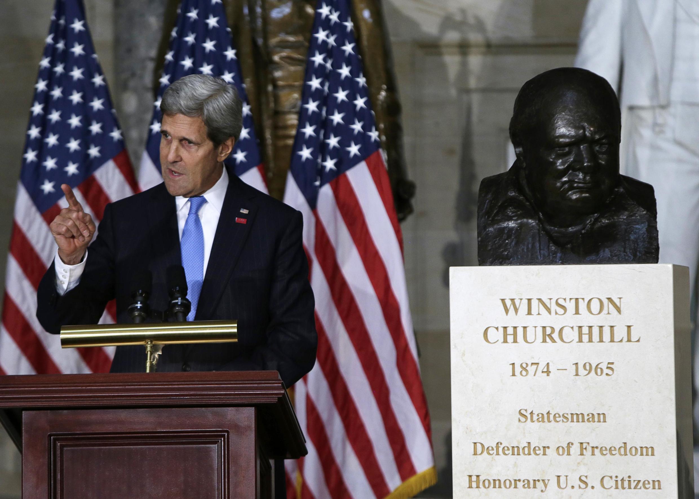 Джон Керри в Капитолии. Вашингтон 30/10/2013