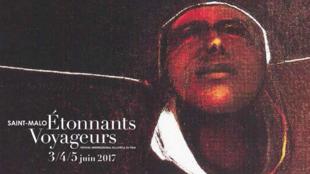 L'affiche officielle du festival Etonnants voyageurs à Saint-Malo.