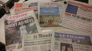 Diários franceses 31.01.2017