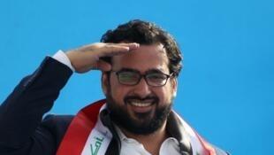 Muntadhar Al Zaïdi, journaliste et candidat aux législatives irakiennes.