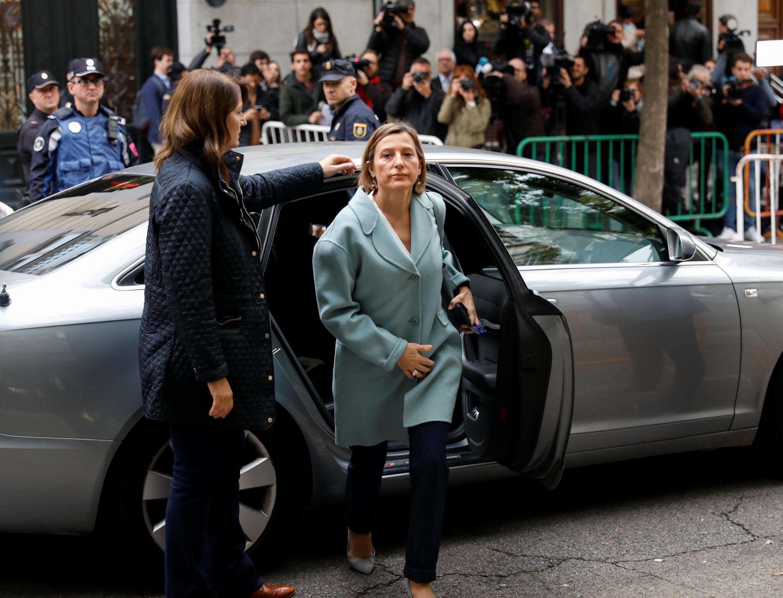 Карме Форкадель отпущена испанским судом под залог в 150 тысяч евро.