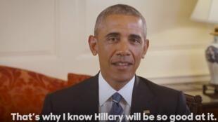Barack Obama diz que Hillary Clinton é a melhor pessoa para o cargo de presidente dos Estados Unidos.