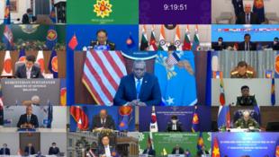 6月16日东盟防长扩大会议资料图片