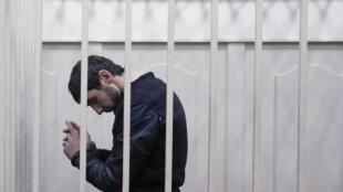 Заур Дадаев в Мосгорсуде, 8 марта 2015 г.