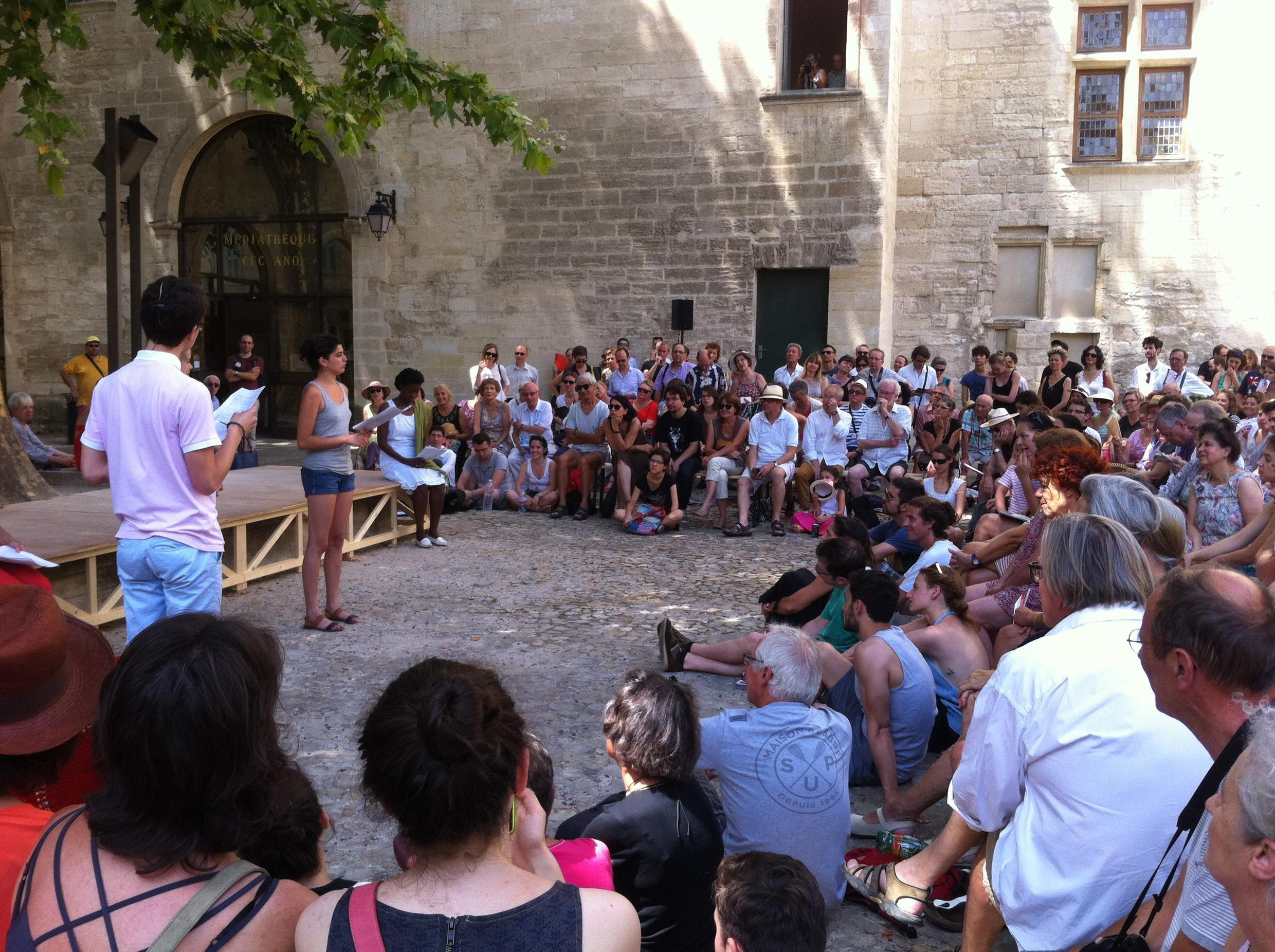 The Avignon theatre festival, which attracts 700,000 thousand visitors, is cancelled this year because of the coronavirus pandemic.