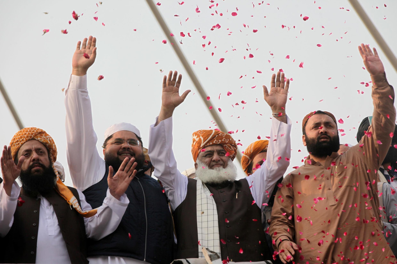 فضلالرحمان، رهبر حزب جمعیت علمای اسلام