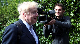 Cựu ngoại trưởng Boris Johnson, người có nhiều triển vọng trở thành thủ tướng Anh.
